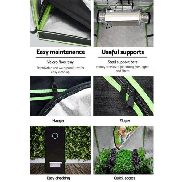 Green Fingers 120cm Hydroponic Grow Tent
